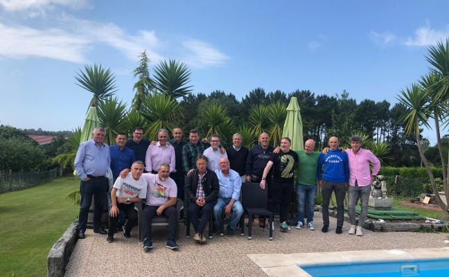 Segunda reunión de veteranos del fútbol sala avilesino