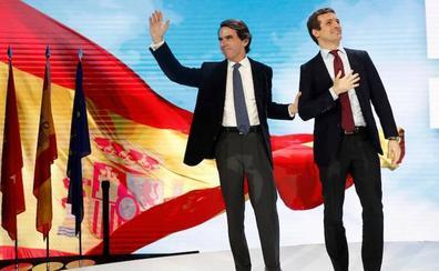 Casado y Aznar recuperan la tradición en el curso de verano de FAES