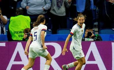 EE UU derrota a Suecia y se medirá a España en octavos
