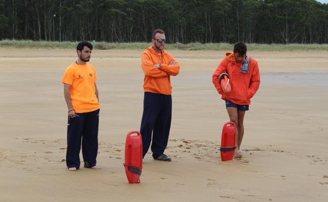 Rodiles, La Ñora y playa España ya disponen de salvamento