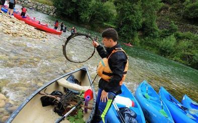 Conciencia y diversión sobre la canoa