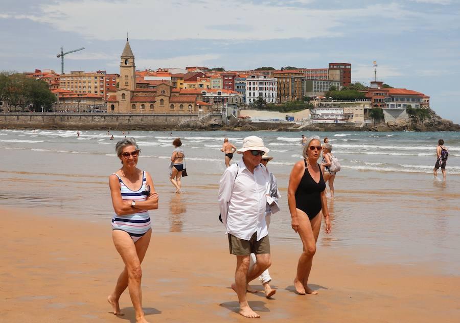El verano llega a Gijón