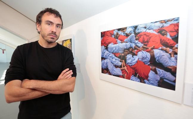 Olmo Calvo muestra su trabajo en el Barjola