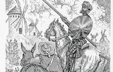 Cervantes en efectivo y con arte