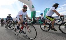 Las calles de Avilés se llenan de bicicletas