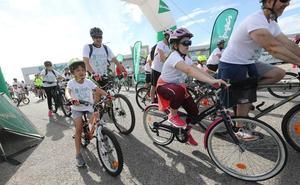 Las bicicletas conquistan el centro de Avilés