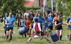 Competición de 'gladiadores' en La Fresneda