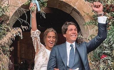 Las fotos más esperadas de la boda de María Pombo y Pablo Castellano