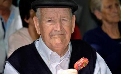 Martín Díaz recupera el sonajero que le arrebató la Guerra Civil