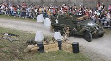 Lugones, campo de batalla