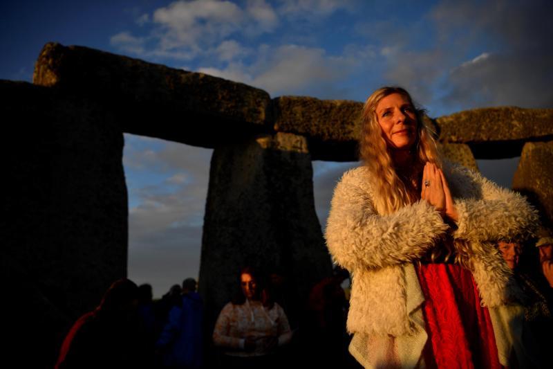 El solsticio de verano en el mágico Stonehenge