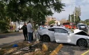 Unos recién casados fallecen tras colisionar su coche con el del sevillista Joao Maleck