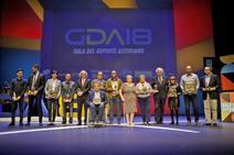 Emotiva gala del deporte asturiano