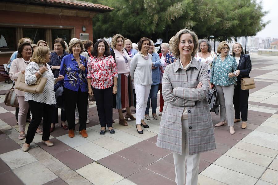 Encuentro de la Asociación Inspira y la Fundación Cardín en el Real Club de Regatas de Gijón