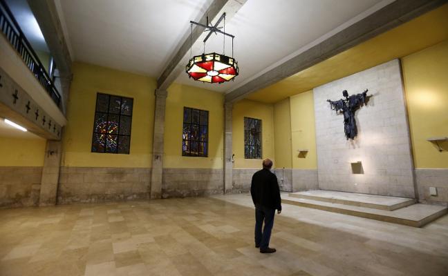 La iglesia de La Tenderina 'cierra' por obras