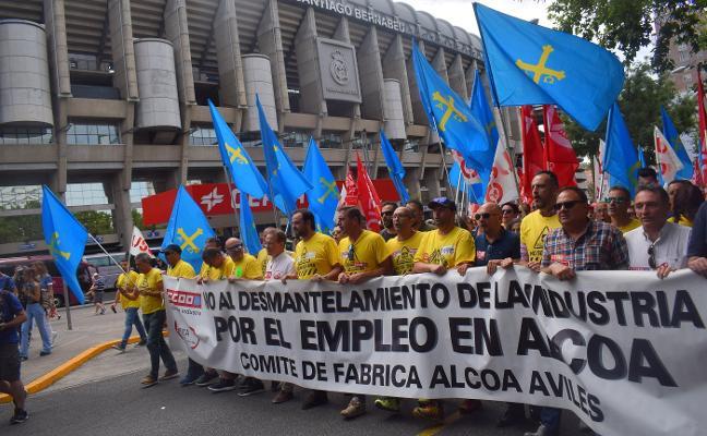 El comité de Alcoa exige a Parter que asegure carga de trabajo para toda la plantilla de Avilés