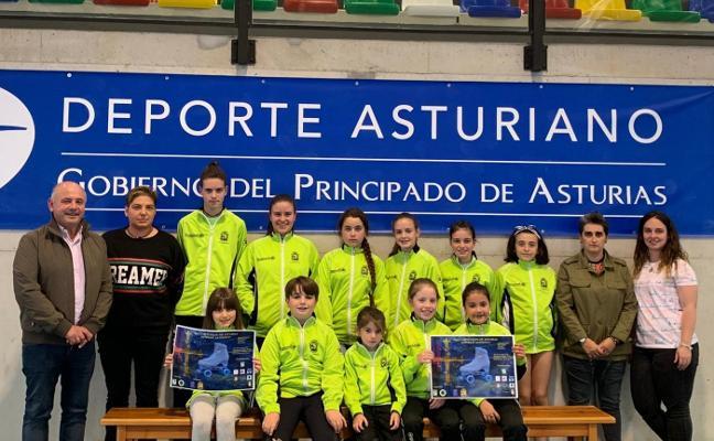 Panes acoge el Campeonato de Asturias de Patinaje Artístico