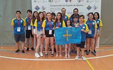 Buen papel de las selecciones infantil y cadete en el campeonato de ajedrez Nacional