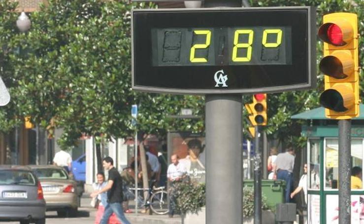 Las temperaturas en España