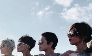 La reivindicativa foto de cuatro mujeres en 'topless' que supera la censura en Instagram