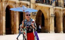 Los termómetros recuperan mañana los valores habituales del verano en Asturias