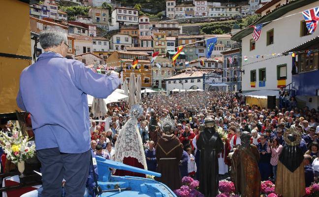 Cudillero se viste de romería para celebrar L'Amuravela