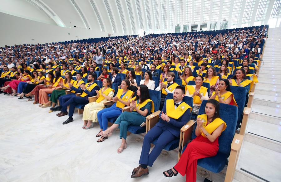Graduación de los estudiantes de Medicina de la Universidad de Oviedo