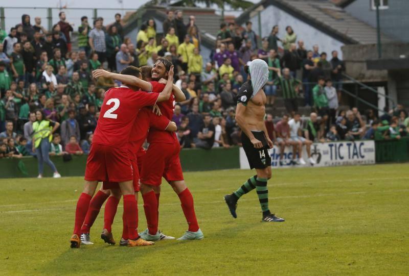 Así fue el partido y la celebración del ascenso del Marino a Segunda B