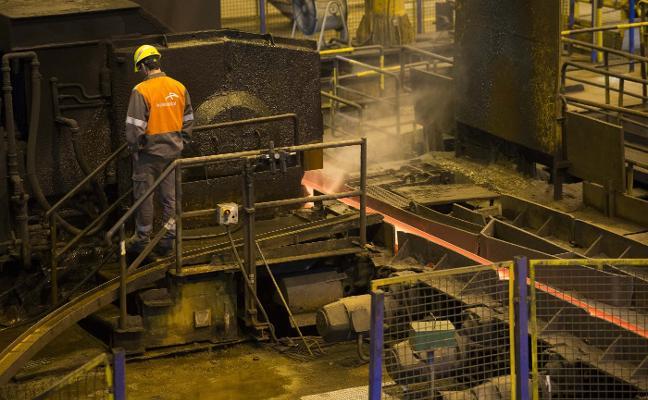 La crisis del acero afecta ya a todas las secciones de las plantas de Arcelor en Asturias