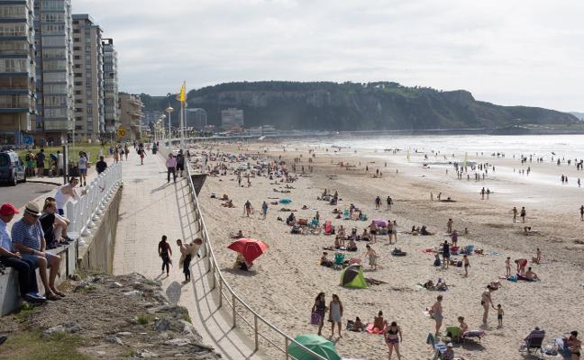 La ola de calor se aleja de Asturias