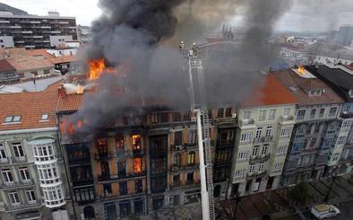 El Tribunal Supremo rechaza indemnizar a la familia del bombero Eloy Palacio
