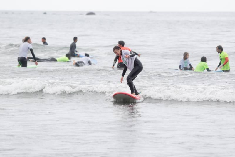 Soto del Barco, cabalgando olas solidarias