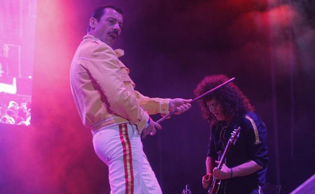 El espíritu de Freddie Mercury revive en Gijón