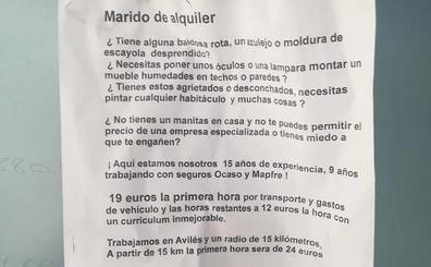La respuesta viral a un albañil que se ofrece como «marido de alquiler» en Avilés