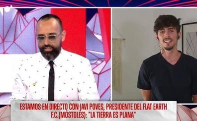 La polémica intervención del exjugador del Sporting Javi Poves defendiendo que la tierra es plana