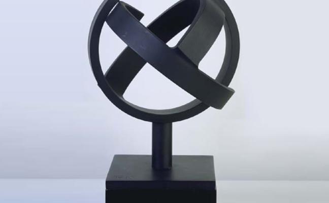El Museo de Bellas Artes expondrá desde hoy una escultura de Oteiza