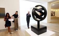 Una escultura de Oteiza, nueva obra invitada del Bellas Artes