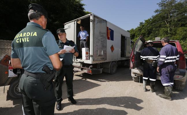 Asturias, referente en el control de explosivos