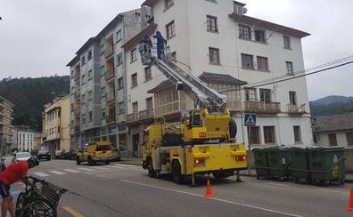 Los bomberos retiran tres nidos de avispa asiática en Valdés