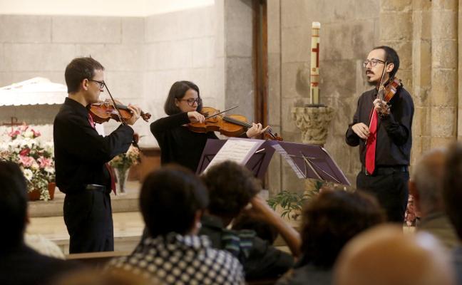 El Arca de Mozart, en la abadía de Cenero