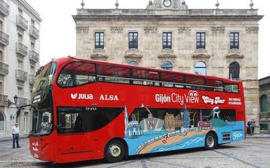 El nuevo Bus Turístico de Gijón estudia ampliar el servicio