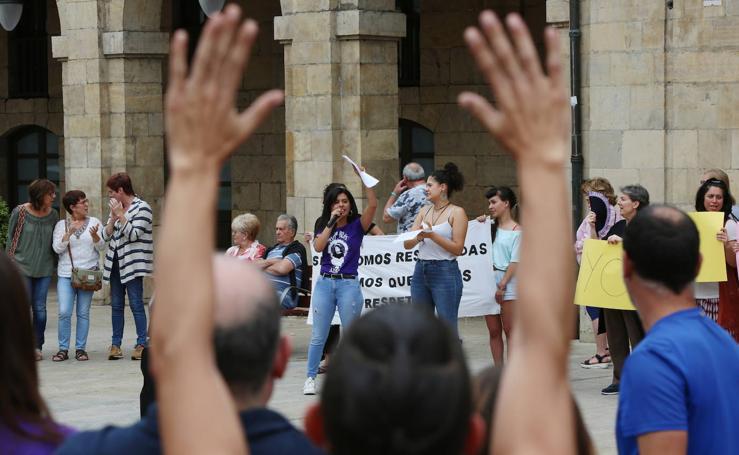 Asturias apoya a la víctima de la 'manada' de Manresa
