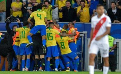 Brasil derrota a Perú en la final de la Copa América
