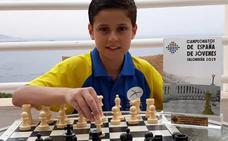 Diego Vergara, campeón de España de ajedrez