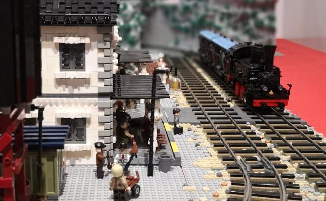 Más de un millón de piezas de Lego, en Gijón
