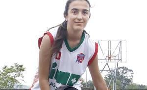 Cristina Requejo prepara su salto
