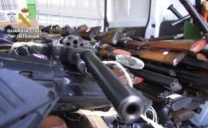 50.000 armas de fuego destruidas al año