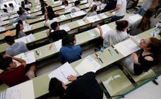 El 66,5% de los estudiantes aprueba la EBAU de julio en Asturias