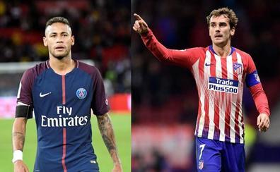 Griezmann y Neymar, los últimos rebeldes