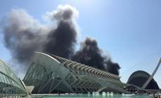 Un incendio obliga a evacuar el Oceanogràfic de Valencia